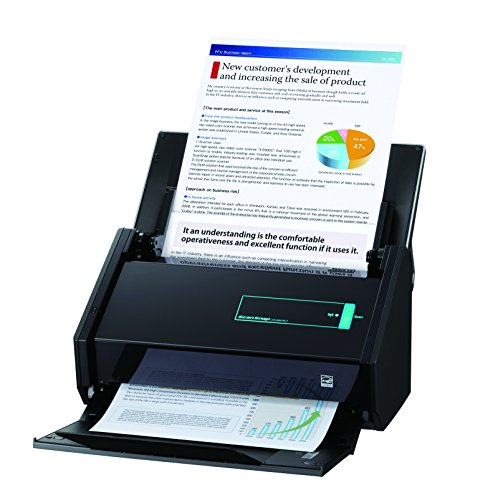 FUJITSU ScanSnap iX500 Scanner A4 incl. USB, ScanSnap Software Suite, Nuance Power PDF Standard, Nuance PDF Converter for Mac