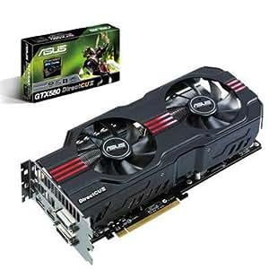 Asus Carte Graphique Nvidia ENGTX580 DCII/2DIS/1536MD5 PCI-Express