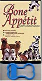 Bone Appetit: The World's Finest Dog Biscuit Recipe Cookbook With Cookie Cutter