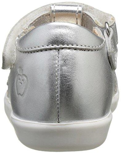 Shoo Pom Pika Spart, Sandales Bébé Fille Argent (Silver/Multi)