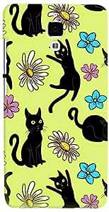 PRINTVISA Cartoon Cats Case Cover for Xiaomi Mi4