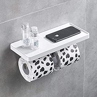 Aimadi toilet paper holder, roll holder, wall mounting, white