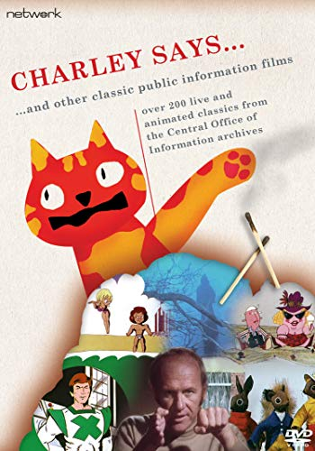 Charley Says... Vol 1 & 2 (More than 280 live and animated classics from the Central Office Of Information archives [DVD]