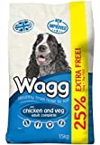 Wagg Dog Food Complete Chicken and Veg Dry Mix, 12 kg plus 3 kg Free