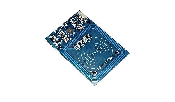 Accessoires Trifycore Module RFID IC 522 CRFM Lecteur de Carte de proximit/é avec S50 de la cha/îne Principale