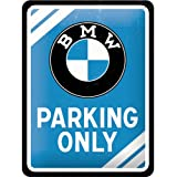 Nostalgic-Art 26177 BMW Parking Only, blau