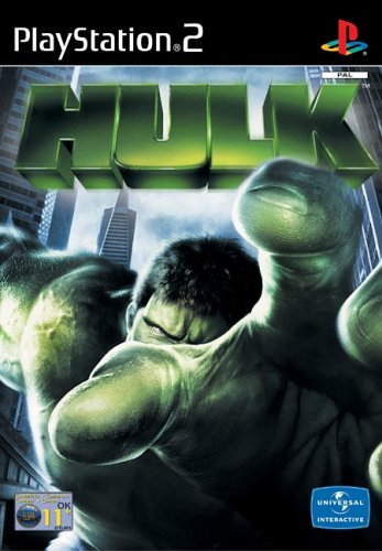 hulk-ps2-playstation2-sierra-2003-very-good-condition