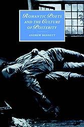 Romantic Poets & Culture Posterity (Cambridge Studies in Romanticism, Band 35)