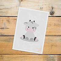 Postkarte Dreamchen Kinderzimmer Deko Kuh