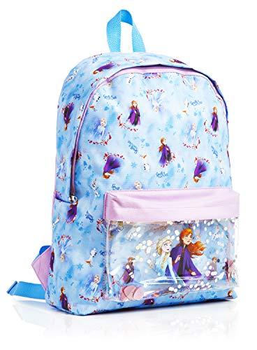Disney Frozen 2 Mochila Escolar Infantil Para Niñas Adolescentes, Princesas Disney Anna Elsa, Mochilas...