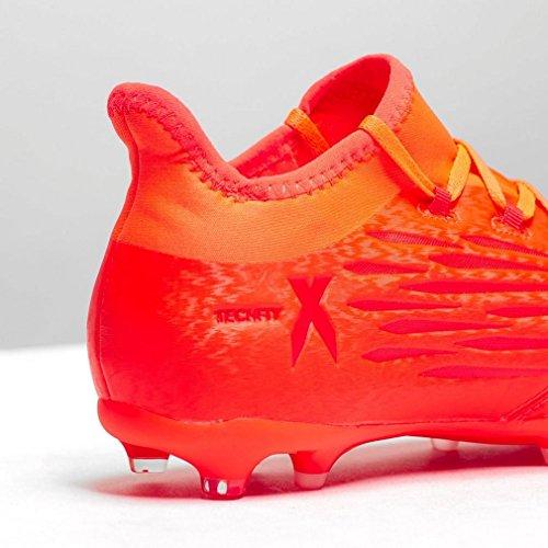 adidas X 16.1 FG J, Chaussures de Foot Garçon Rouge