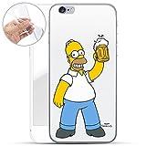 Finoo Homer Serie silicone SIMPSONS iPhone 6/6s - BIRRA AMORE, Iphone 6/6S
