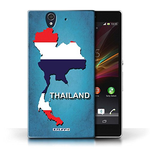 Kobalt® Imprimé Etui / Coque pour Sony Xperia Z / Espagne/Espagnol conception / Série Drapeau Pays Thaïlande/Thai