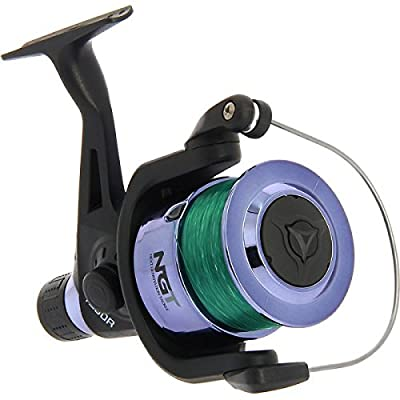 NGT Unisex Frl-TZ60R Coarse Fishing Reel with Line, Black, 12 Lb from NGT