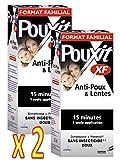 Pouxit - Lotion XF Anti Poux - Traitement contre les poux, Efficace et Rapide - Lot de 2 x 200 ML