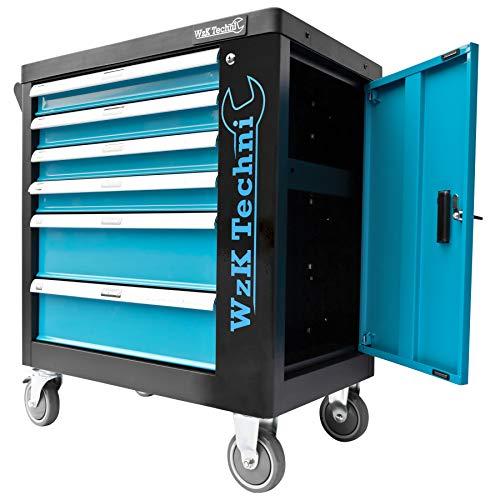 XXL Edition | Werkzeugwagen - Werkstattwagen - 6 Schubladen gefüllt mit Werkzeug | Bit Sets, Ratschen, Nüsse und vieles mehr... - 5