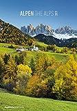 Alpen 2017 - The Alps - Bildkalender (24 x 34) - Landschaftskalender