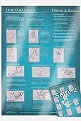Lingam-Massage Kurzanleitung (2017) - 23 Penismassage-Techniken für die Tantramassage und mehr Genuss beim Sex - Praktische Schnellübersicht und ... für den Mann [DIN A4 - zweiseitig, laminiert] Papeterie