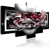 murando - Bilder 100x50 cm - Vlies Leinwandbild - 5 Teilig - Kunstdruck - Modern - Wandbilder XXL - Wanddekoration - Design - Wand Bild - Abstrakt Galaxy a-A-0041-b-o
