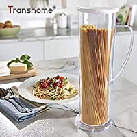 Plat Firm Transhome 1 Unids Nueva Llegada Pasta Express Spaghetti Maker Pasta Cook Tube Container Fast Easy Cook Para Cocina Fideos Al Por Mayor