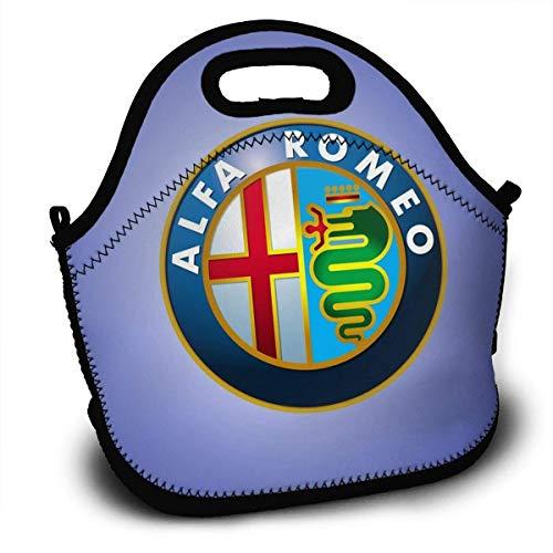 547cc602d027 atopking Alfa-Romeo-Logo Lunch Bag Lunch Box Borsa Termica per Isolamento  Termico Picnic Bag School Cross Body Backpack