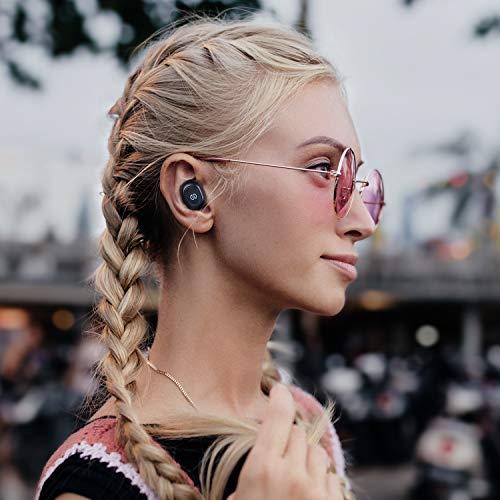 SoundPEATS Bluetooth 5.0 kabellose Kopfhörer True Wireless TWS Bluetooth Kopfhörer in Ear Mini Headset Sport drahtlose Ohrhörer IPX6 mit Ladebox Mikrofon automatische verbinden iPhone Huawei Samsung - 6