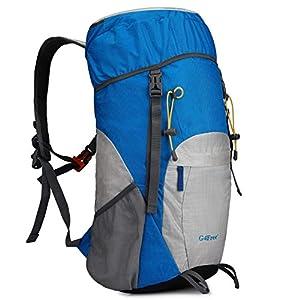 G4Free 40L Mochila Ultra Ligero de Senderismo con Cubierta Lluvia Resistente al Agua Plegable para Excursión Trekking…