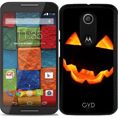 tArtists Hülle für Motorola Moto X (Génération 2) - Halloween Kürbis by hera56 ()