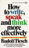 Image de How to Write, Speak and Think More Effectively