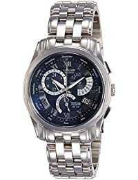 Citizen Chronograph Blue Dial Men's Watch-BL8007-55L