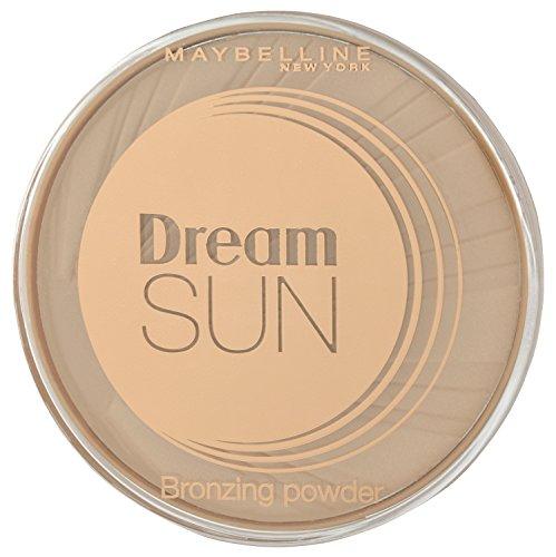 Maybelline New York Terra Sun Bronzing Puder Light Bronze 01 / Bräunungspuder in hellem Bronze-Ton, für eine natürlich wirkende Bräune im Gesicht, 1 x 16 g