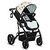 #5: Pavo Italia Luxury Stroller Cum Carry Cot with One-Touch Braking System Stroller - (Age:- 6 to 36 Months)