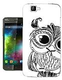 003174 - Cute Owl Face Fun Design Wiko Bloom Fashion Trend