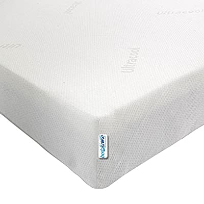 bedzonline 3FT SINGLE BUDGET ECONOMY MEMORY FOAM MATTRESS 11CM DEPTH
