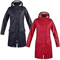 King País Chubasquero Rochelle para abrigo de lluvia para mujer, mujer, color rojo, tamaño small