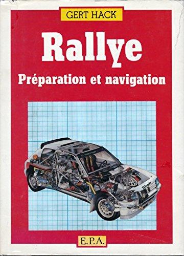 Rallye/preparation et navigation