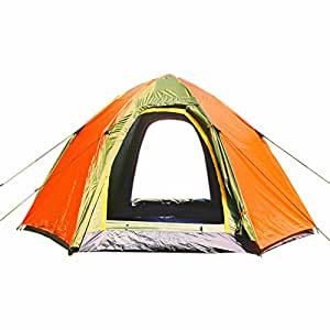 Wnnideo Instant Dome Family Tent 6 Person Pop Up