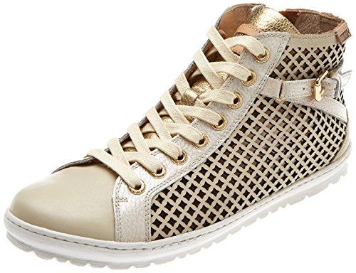 Pikolinos Damen Lagos 901 Hohe Sneaker Beige (Marfil)