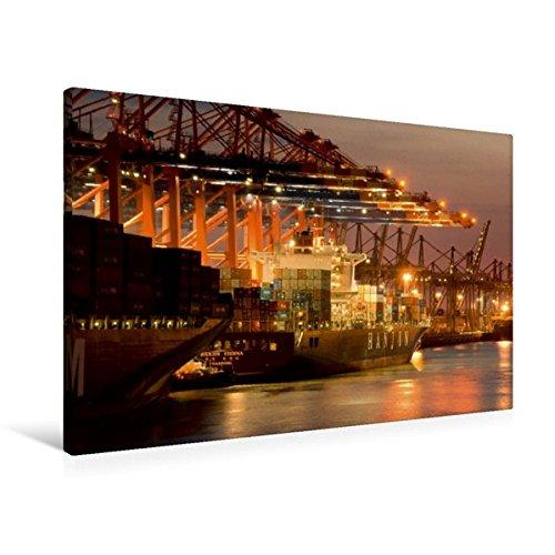 premium-textil-leinwand-90-cm-x-60-cm-quer-hanjin-containerschiff-wandbild-bild-auf-keilrahmen-ferti
