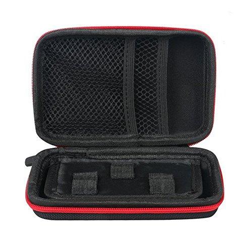 Dricar Mini Custodia Sigaretta Elettronica - KBAG Borsa Porta Sigarette Elettroniche 15*10*3 cm per Trasportare tua Attrezzatura Mods, Atomizers, E-juice, Suminist(Nero)