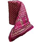 Mharo Rajasthan Traditional Pink Jaipuri Rajai/Razai/Quilt Single Single Bed