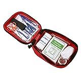 BoodTag Trousse de Premier Secours Kit de 31 pcs Sac Rangement Médical D'urgence Maison et Voyage