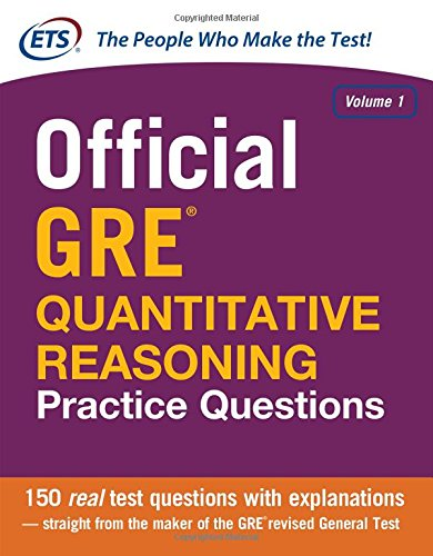 Official GRE Quantitative Reasoning Practice Questions: 1