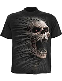 Spiral - Men - CAST OUT - T-Shirt Black