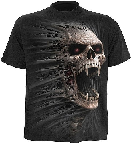 Spiral Cast Out T-Shirt schwarz XXL