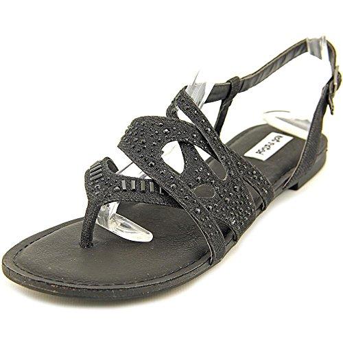 Não Offener Têxtil Sandale Classificado Slingback Bastin Spitze Preto ggqFrvx