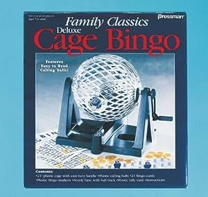 Family Classics Deluxe Cage Bingo