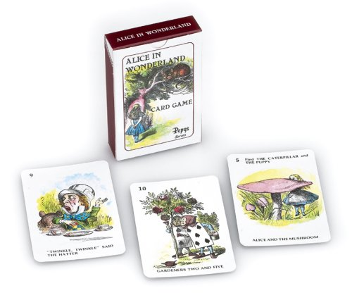 Imagen principal de Gibson Games - Juego de cartas Alicia En El País De Las Maravillas (Globalgifts G677) (versión en inglés)