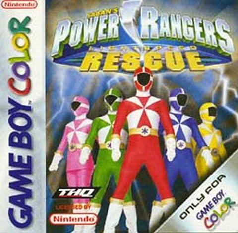Power Rangers: Light Speed Rescue (GBC)