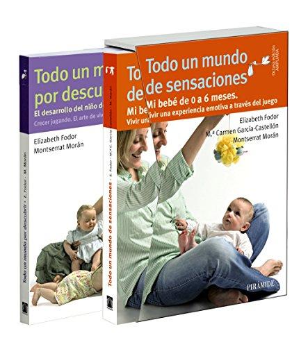 Estuche Todo un mundo... De sensaciones y por descubrir (Guías Para Padres Y Madres)